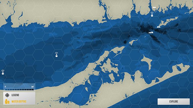 Long Island Sound water depths