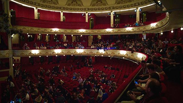 dotJS 2014 - Théâtre de Paris panorama